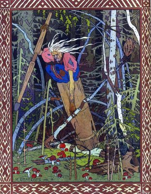 Baba Yaga and La Befana