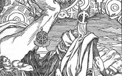 God Thor and The Giant Skrymir – Útgarða-Loki – Norse Myth