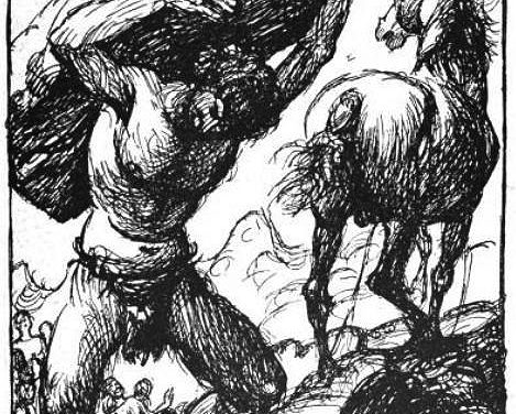 The Wall Around Asgard – The Builder – Norse Myth