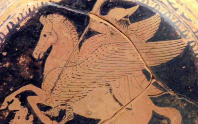 Bellerophon, The Mighty Scary Chimera and Pegasus
