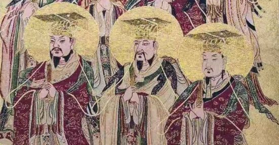 The Three Sovereigns – Fuxi, Shennong and Huangdi