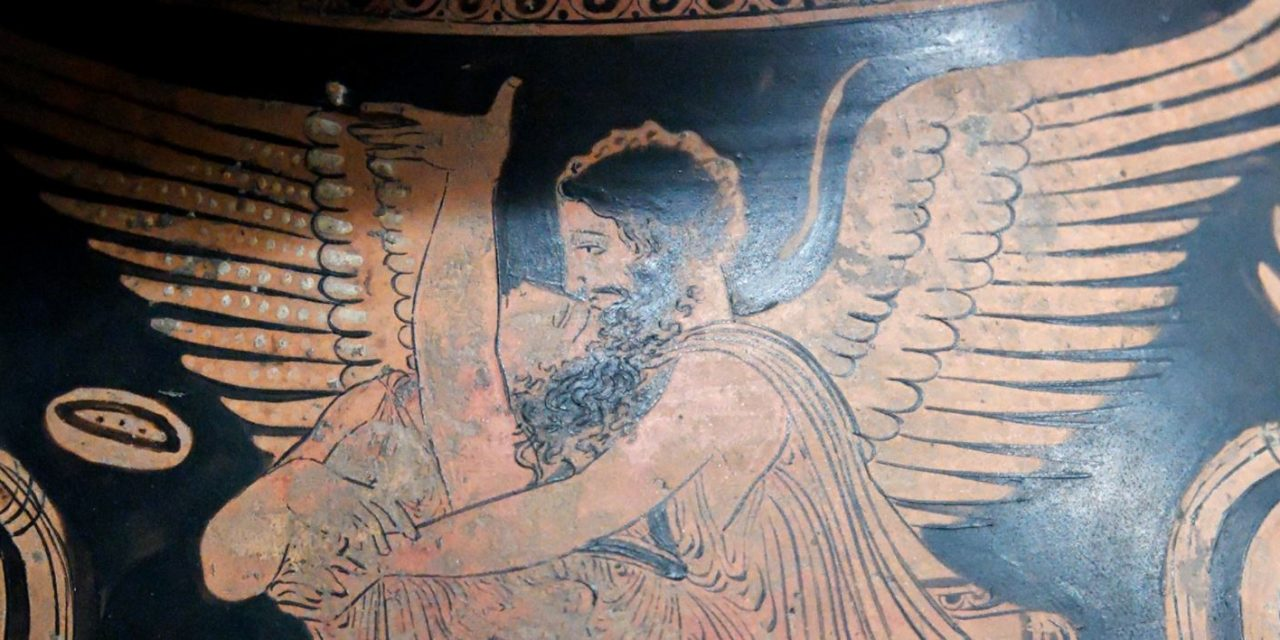 Boreas – The Fearful God of Wind Lustfully Abducts Oritia