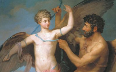 Fall of Icarus and Flight of Daedalus