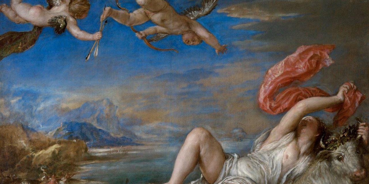 Europa and the White Bull – Zeus Seduces Europa