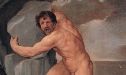 The Cyclope Polyphemus In Love With Galatea