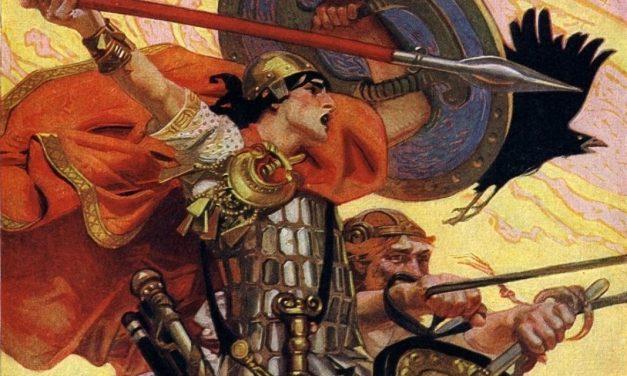 Келтска легенда – Как Кухулин погуби сина си в битка